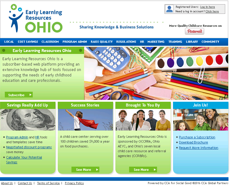 Early Learning Resources Ohio